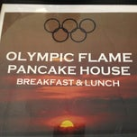 Photo taken at Olympic Flame Pancake House by Matt M. on 8/2/2012