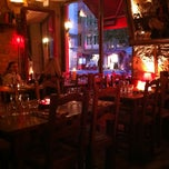 Photo taken at RESTAURANT A LA TRABOULE by Heather M. on 4/13/2012