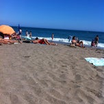 Photo taken at Playa Santa Ana by Moises A. on 8/24/2012