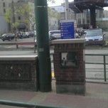 "Photo taken at Warehouse District/Hennepin Ave LRT Station by Miguel "" M@g!C"" L. on 11/2/2011"