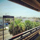 Photo taken at MDT Metrorail - South Miami Station by Oscar M. on 8/14/2012