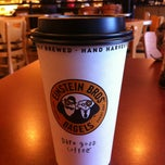 Photo taken at Einstein Bros Bagels by Jesika M. on 12/18/2011