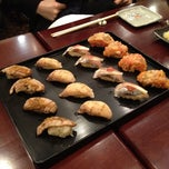 Photo taken at Sushi of Gari by Yosuke H. on 3/21/2012