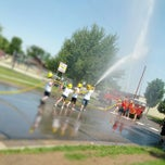 Photo taken at 2012  Town & Country Days Paynesville Fireman's Waterball Fight by Dave S. on 6/9/2012