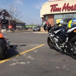 Photo taken at Tim Hortons Cafe & Bake Shop by Stevie S. on 3/17/2012