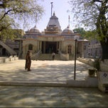 Photo taken at Krishna Mandir by Tejash S. on 4/21/2012