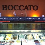 Photo taken at Boccato Gelato & Espresso by Angelica H. on 2/23/2012