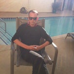 Photo taken at The Pool @ Poinsettia Apartments by Jackee B. on 2/21/2012