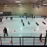 Photo taken at Edge Ice Arena by Ann K. on 8/8/2012