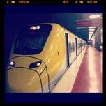 Photo taken at Arlanda Express (Arlanda S) by Alena G. on 8/22/2012