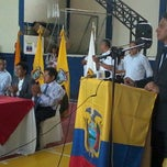 "Photo taken at Coliseo ""Comandante Carlos Alejandro Rivadeneira"" by TaniUx on 6/7/2012"