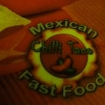 Photo taken at Chilli Taco by Felipe F. on 7/27/2012