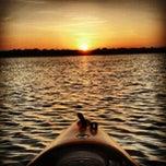 Photo taken at White Rock Lake by Jason D. on 8/1/2012