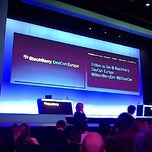 Photo taken at BlackBerry DevCon Europe at the Amsterdam RAI Convention Centre by Ben R. on 2/7/2012