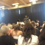 Photo taken at Pohjois-Tapiolan koulu ja lukio by Henri A. on 6/2/2012