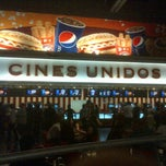 Photo taken at Cines Unidos by Marcos V. on 8/13/2012
