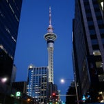 Photo taken at Sky Tower by Aroune H. on 8/24/2012