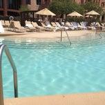 Photo taken at Sheraton Wild Horse Pass Resort & Spa by Vanessa P. on 5/6/2012