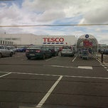 Photo taken at Tesco by Simon D. on 9/1/2012