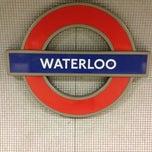 Photo taken at Waterloo London Underground Station by Mark P. on 7/26/2012