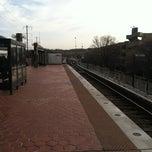 Photo taken at New Carrollton Metro Station by El-Hadji H. on 3/8/2012