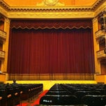 Photo taken at Teatro Storchi by Tiziano D. on 3/4/2012