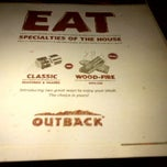 Photo taken at Outback Steakhouse by Huy N. on 2/17/2012