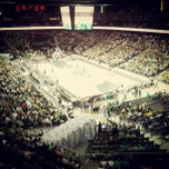Photo taken at Žalgirio Arena | Zalgiris Arena by Mantas L. on 6/17/2012