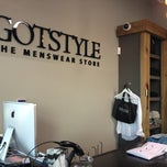 Photo taken at GOTSTYLE Menswear by Khalid M. on 3/21/2012