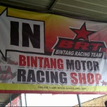 Photo taken at Bintang Racing Team (BRT) by Wandy S. on 5/24/2012
