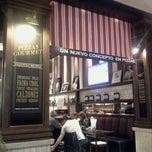 Photo taken at Almacen de Pizzas by Mavi M. on 8/4/2012