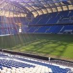 Photo taken at INEA Stadion by Pawel M. on 4/20/2012