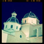 Photo taken at Plaza Iglesia Altea by Francesc G. on 7/29/2012