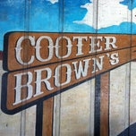 Photo taken at Cooter Brown's Tavern & Oyster Bar by Jimmy W. on 5/22/2012