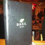 Photo taken at Basil by Sara H. on 5/20/2012