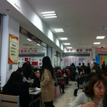 Photo taken at 北京语言大学食堂 by Yue T. on 2/28/2012
