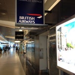 Photo taken at British Airways Terraces Lounge by Steve Y. on 7/13/2012
