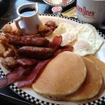 Photo taken at Silver Diner by Michael on 4/22/2012