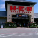 Photo taken at H-E-B by Ursovein on 4/1/2012