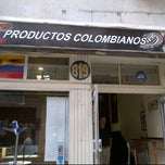 Photo taken at Productos Colombianos by Gringuita M. on 2/7/2012