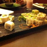 Photo taken at Hanami Sushibar by Carola C. on 5/21/2012