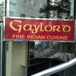 Photo taken at Gaylord Fine Indian Cuisine by Dustin T. on 5/23/2012