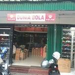 Photo taken at Dunia Bola Rawamangun by Edvanó on 4/20/2012