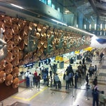 Photo taken at Indira Gandhi International Airport (DEL) by Murat B. on 6/25/2012