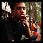 Photo taken at Lapangan Bola FISIP by Habib Fauzi S. on 4/20/2012
