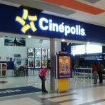 Photo taken at Cinépolis by Giovanni H. on 3/29/2012
