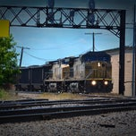 Photo taken at Rochelle Railroad Park by Chilango H. on 6/5/2012