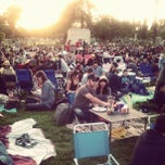 Photo taken at Cinespia @ Hollywood Forever Cemetery by Ryan C. on 5/20/2012