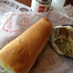 Photo taken at Jimmy John's by Stephan R. on 3/26/2012
