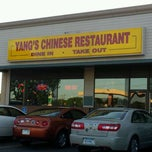Photo taken at Yang's Chinese Restaurant by Adam J. on 5/11/2012